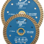 Thin Tile Turbo Blade