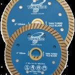 Thin Tile Turbo Blade